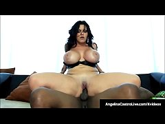 Cuban BBW Angelina Castro Rammed By A Big Black...