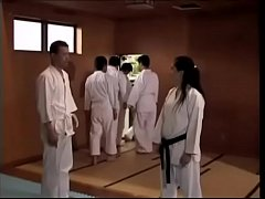 Japanese karate teacher rapped...