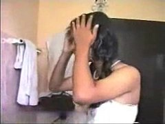 Tamil girl masterbating at...