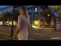GERMAN SCOUT - CUTE COLLEGE TEEN CANDY PICKUP A...