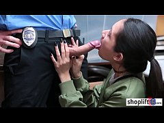 Clip sex Dirty teen seduced a bad LP officer and enjoyed a sex