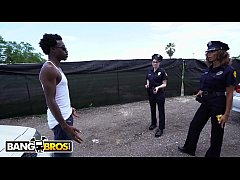 BANGBROS - Lucky Suspect Gets Tangled Up With S...