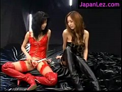 Hot Girls In Latex and Lingerie Fucking short scene