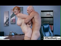 Big Round Tits Girl (Lauren Phillips) Enjoy Hard Intercorse In Office mov-16