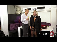 HITZEFREI Thick German blonde Tatjana Young gets fucked
