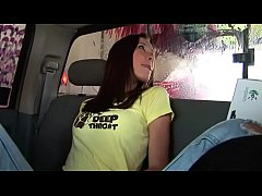 Brooke Skye - Back Seat Masturbation