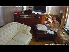 DOUBLEVIEWCASTING.COM - ANTONIA GETS HER BACK-WAY USED (POV VIEW)