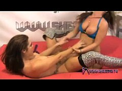 Shebang.TV - Two sexy lesbian sluts in hot erotic scene