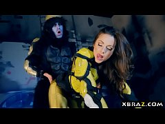 Clip sex Power Rangers xxx parody with pornstar Abigail Mac