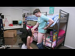 Trickery - College Teen Tricked Into Fucking He...