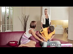 Babes - Step Mom Lessons - Tina Hot and Kayla Green and Kristof Cale - Lessons in Lust