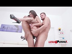 Polly Petrova monster cock fuck session with DP...