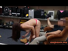 College girl pounded by nasty pawn dude