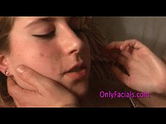 Facial for a sweet teen