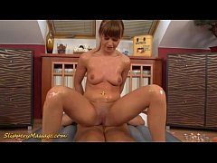 Slippery nuru massage with...