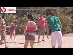 How to make badminton Ashli Orion Kaci Starr HD...