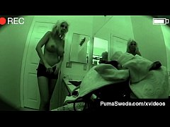 Blonde Amazon Puma Swede Is Fucked On Spy Camera in this hardcore boy girl voyeur clip where Puma plays Swedish School Girl & Fucks Her Hard Client!