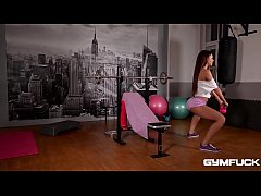 Gym Threesome of the year with Alexis Brill and Christen Courtney
