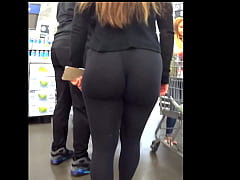 Super Juicy Ass in Black Tights