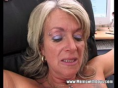 Clip sex Blonde Mature Office Boss Anal Fucked By Applicant