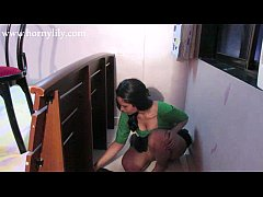 Clip sex Horny Lily as an Indian maid