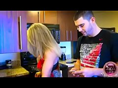 thumb son blackmai l mom to do blowjob with his friend also