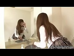 japanese girl squirt with a misterious guy