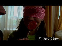 thumb sensual lollipop foreplay by thirsty teen