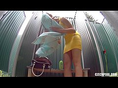 Czech Pool Amazing Teen with Firm Tits Shower V...