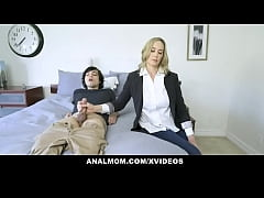 Business Mom Lilly James Makes Anal Deal With S...