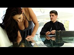 PureMature - Hot milf Ava Addams does business ...