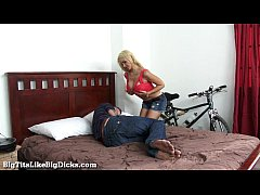 Busty Blonde Likes It Rough!