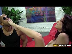 Tiffany Mynx Interracial Footjob...