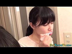Japanese teen fingering
