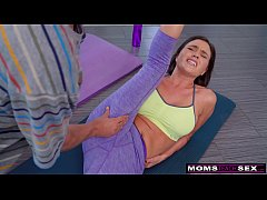 """Are you Serious Mom?"" - Yoga Step Mom Fucks My..."