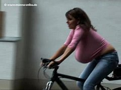 Milena Velba - bicycle