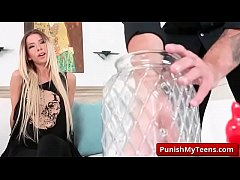 Submissive Porn with Bondage Sex Jar with Kenzie Reeves porn clip-01