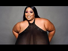 46N BBW Model Cotton Candi BTS Interview With A...