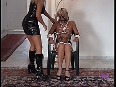 Fetisch-Concept.com: - Bondage date for 2 girls with nipple play -