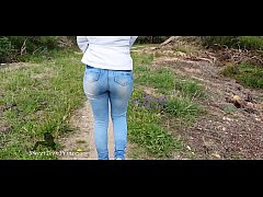 FUCK IN THE WOODS TO CELEBRATE ONE MILLION VIEWS, WITH CREAMPIE! THANK YOU ALL!