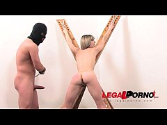 Tiny bottomless whore Gina Gerson dominated, as...
