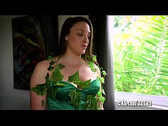 Busty Poison Ivy Is Seduced and Dominated by Ba...
