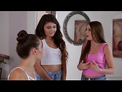 Adria Rae and her BFF visit a massage parlour -...