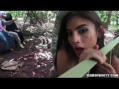 Arab babes fucked in jungle camp