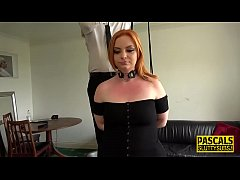 Clip sex Real bound redheaded sub