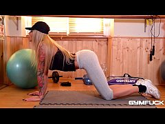 Gym fuck with big ass slut Kayla Green makes yo...