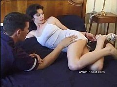 Amateur french mom son with anal