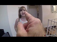 Ill bred stepdaughter needs discipline by stepd...