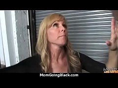 hot milf mom make a blowjob and ride a big blac...