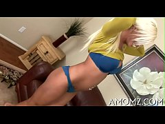 Sultry mommy fucked by a hawt guy